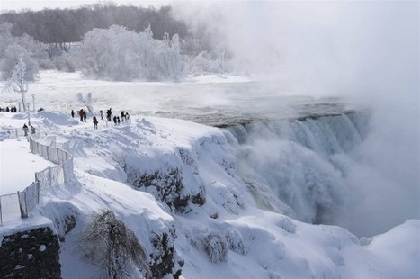 This Is What Niagara Falls Looks Like When It Freezes Over | IFLScience | Motorhome Madness | Scoop.it