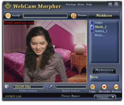 Logiciel and webcam