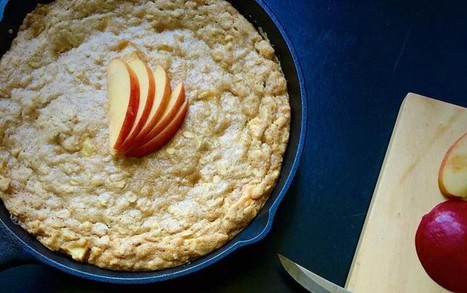 Caramel Apple Skillet Cookie [Vegan] | My Vegan recipes | Scoop.it