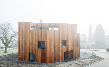 Into the woods: a timber-clad Swiss home brings the outside in | sustainable architecture | Scoop.it