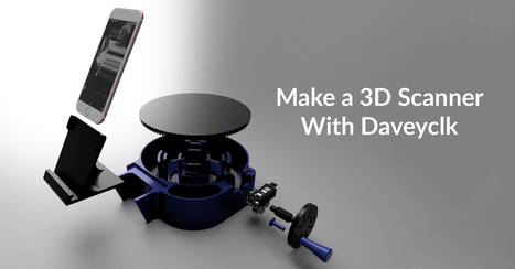 How To Make a $30 DIY 3D Scanner | | FabLab - DIY - 3D printing- Maker | Scoop.it