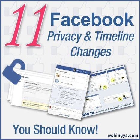 11 Facebook Privacy and Timeline Changes You Should Know | sabkarsocialmediaInfographics | Scoop.it