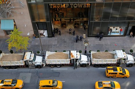 Why Trump's and Clinton's locations are surrounded with dump trucks full of sand | LibertyE Global Renaissance | Scoop.it