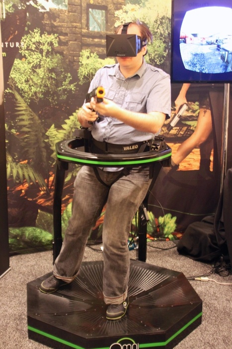New Virtuix Omni VR prototype ditches camera for capacitive sensors - Ars Technica   Immersive Virtual Reality   Scoop.it