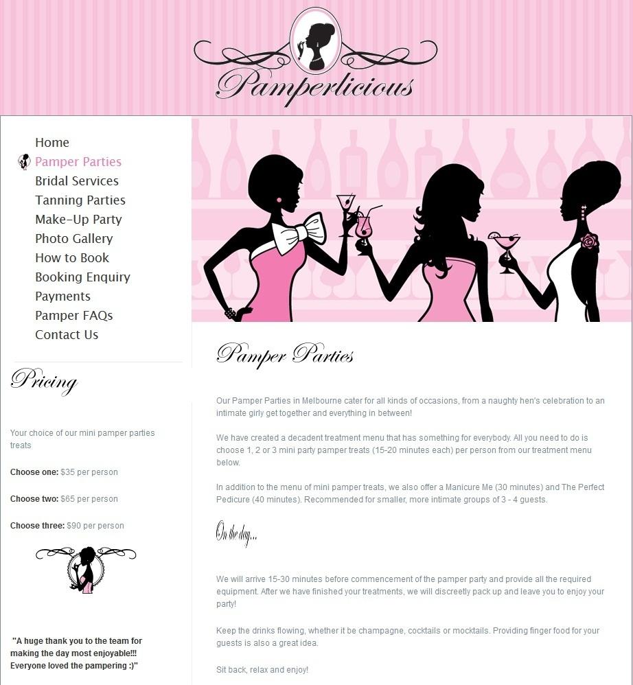 Pamper parties in melbourne\' in Beauty Salon | Scoop.it