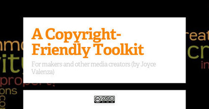 A Copyright-Friendly Toolkit From Joyce Valenza | Library Learning Commons | Scoop.it
