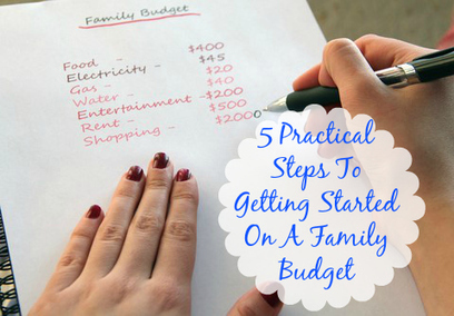 5 Practical Steps to Getting Started on a Family Budget | Marla Murasko's Musings From A Special Needs Mom | special needs, family, fashion, travel and more | Differently Abled and Our Glorious Gadgets | Scoop.it