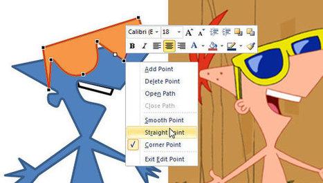 Tracing in PowerPoint 2010 | Digital Presentations in Education | Scoop.it