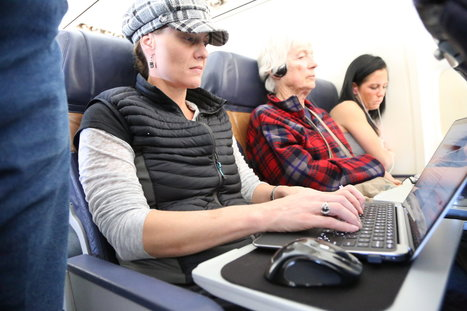 F.C.C. Advances Plan for Faster In-Flight Wi-Fi | e-Skills Showcase Céline Merchiers | Scoop.it