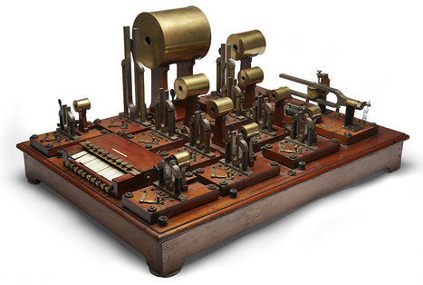 A collection of man-made 'music' and the machines behind it | Communication design | Scoop.it