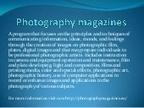 Photography magazines | Feel Good Photography | Egyptday1 | Scoop.it