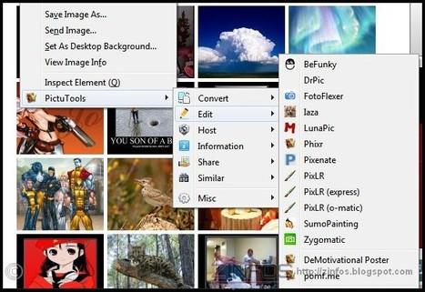 PictuTools-pleins d'outils sur firefox pour manipuler vos images | CaféAnimé | Scoop.it