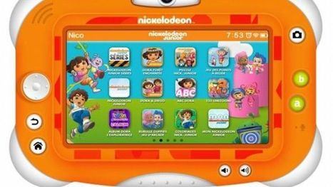 La télévision se lance dans les tablettes pour enfants | Les princesses de Marie | Scoop.it