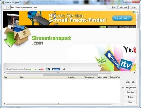 En la nube TIC: descarga vídeos de cualquier web con #StreamTransport   Recull diari   Scoop.it