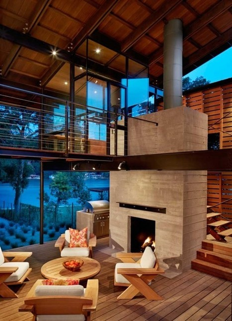 The Hog Pen Creek Residence by Lake|Flato | What Surrounds You | Scoop.it