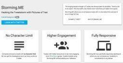 Comment publier un tweet de plus de 140 caractères ?   Les outils de la veille   Ecrire Web   Scoop.it