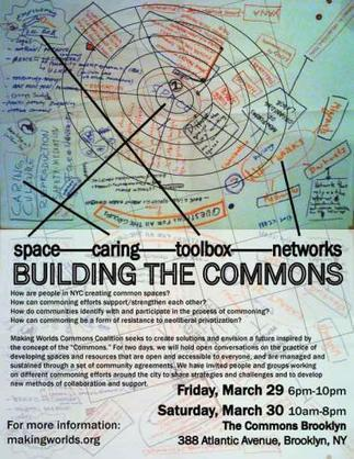 Second Forum On The Commons | OCCUPY WALL STREET | Networked Labour | Scoop.it