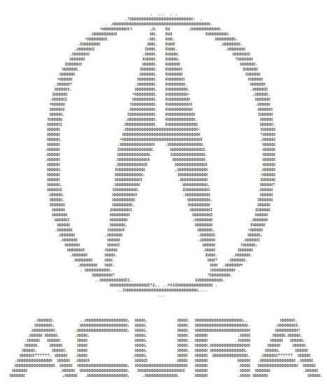 Ow.ly - image uploaded by @CrownAcura | ASCII Art | Scoop.it