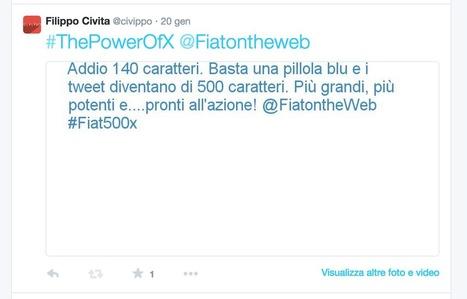 Pimp Your Tweet con 500X: una pillola blu e tutto diventa più...grande! - Civippo | Twitter addicted | Scoop.it