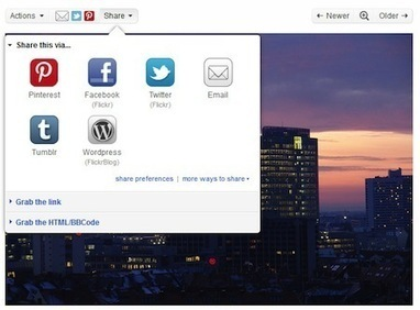 Announcing Attribution and Easy Sharing with Flickr | Library Tech | Scoop.it