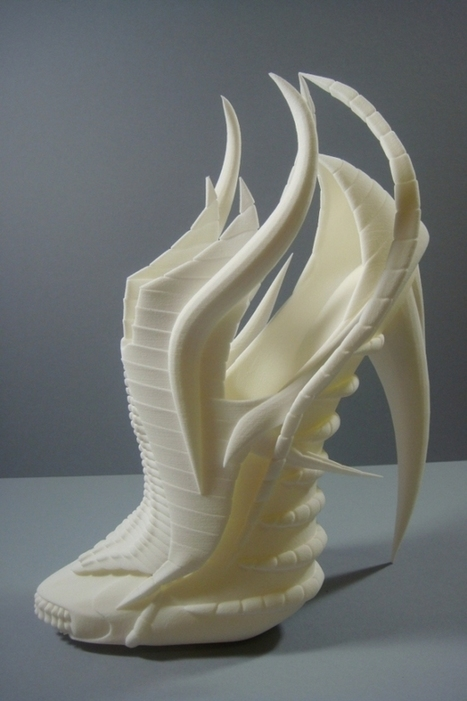 Exoskeleton 3D-printed shoes look alien, awesome | On 3D-printing and the home factory | Scoop.it