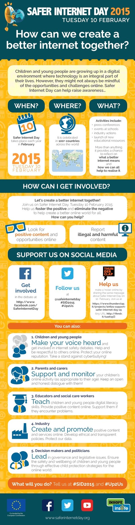 How can WE create a BETTER internet together!? | Infographic | Technology in the Classroom | Scoop.it