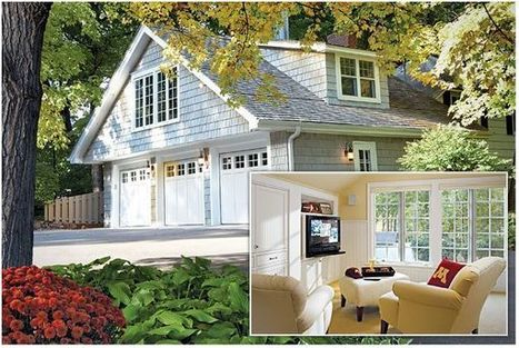 10 Dramatic Garage Transformations to Inspire and Amuse | Interiors | News, E-learning, Architecture of the future at news.arcilook.com | Architecture news | Scoop.it