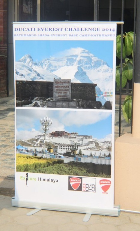 Nepalese Ducati Riders take on the Everest Challenge 2014 | Ductalk Ducati News | Scoop.it