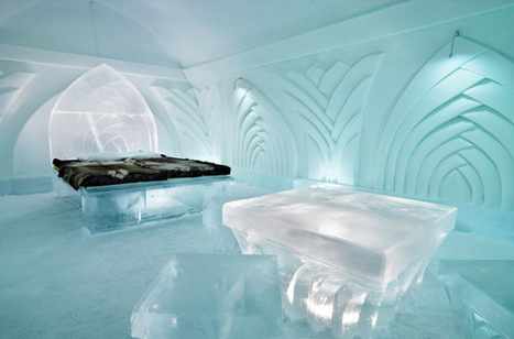 Icehotel, Jukkasjarvi, Sweden : World's Best Ice Hotels and Igloo Villages - SmarterTravel.com | Everything from Social Media to F1 to Photography to Anything Interesting | Scoop.it