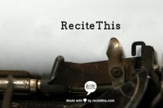 Turn a Quote into a Visual Masterpiece with ReciteThis | Bel Air iPad Integration | Scoop.it