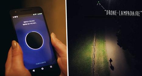 Cette compagnie d'assurance crée des «drones lampadaires» qui vous raccompagnent la nuit | Drone | Scoop.it