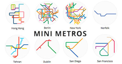 220 Mini Metro Maps From Around The World | Mr Tony's Geography Stuff | Scoop.it