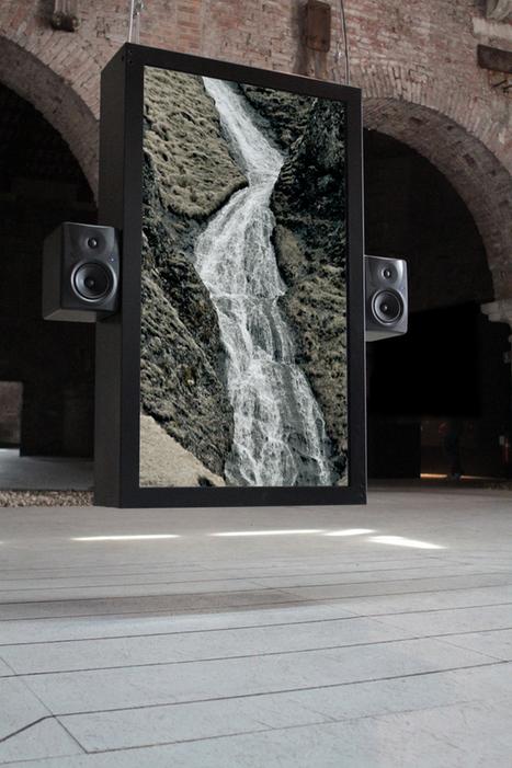 Soothing Audiovisual Installation of Waterfalls - My Modern Metropolis   Le It e Amo ✪   Scoop.it