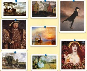 8 Famous British painters listening quiz. | Internet 2013 | Scoop.it