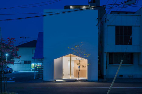 tsubasa iwahashi architects: folm arts beauty salon, osaka   Visual Inspiration   Scoop.it