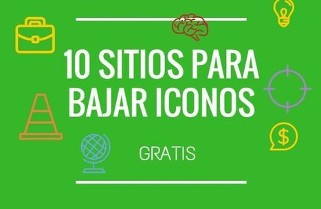 10 buscadores para bajar iconos gratis | #SocialMedia, #SEO, #Tecnología & más! | Scoop.it