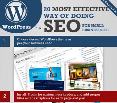 Top 20 SEO Hacks For Your WordPress Site [Infographic]   Top Google Ranking   Scoop.it
