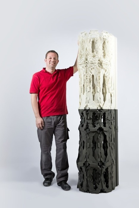 3D printed Column as a symbol for new architectural possibilities | Digital Design and Manufacturing | Scoop.it