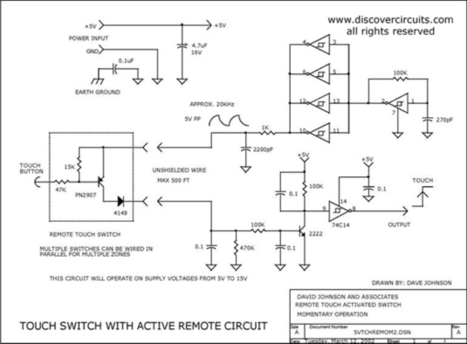 Single Output 5v Touch Switch | DIY Music & electronics | Scoop.it