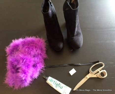 How to make a fashion DIY shoes in 5 minutes! | Fashion DIY and more... | Scoop.it