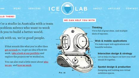 35 Stunning Web Designs Inspire | Design Revolution | Scoop.it