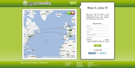 Quirky travel mapping application allows groups to visualize trip ... | Developing Spatial Literacy | Scoop.it