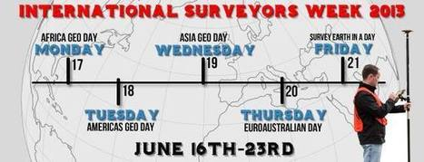 International Surveyors Week 2013 Has Begun | Geospatial Industry | Scoop.it