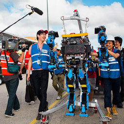 Behind the Scenes at the Robot Olympics | singularity+ | Scoop.it