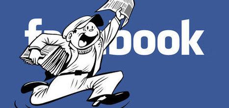 Facebook va privilégier les médias d'information | Communication 2.0 (référencement, web rédaction, logiciels libres, web marketing, web stratégie, réseaux, animations de communautés ...) | Scoop.it