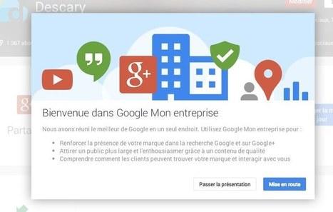 Avec Mon entreprise, Google veut faciliter la gestion de la présence Web des PME | Mnemosia: Graphics, Web, Social Media | Scoop.it