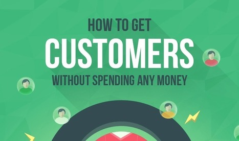 9 Ways To Get Customers (Without Spending Any Money) - #infographic   Competitive Edge   Scoop.it