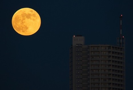 Rare 'Honey Moon' Rises On Friday The 13th | Digital-News on Scoop.it today | Scoop.it