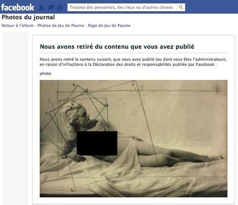 Le musée du Jeu de Paume se déculotte devant Facebook | Antisocial | Scoop.it