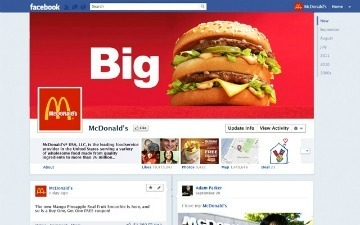 How Facebook Timeline Might Radically Change the Look of Brand Pages [PICS] | Small Business Marketing | Scoop.it